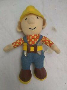 Bob-The-Builder-9-034-Giocattolo-Morbido-Peluche-Da-1998-GIOCO-Born-To