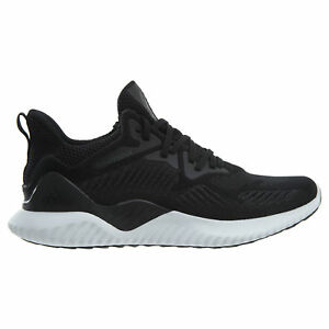 eed3d8c04 Image is loading Adidas-AlphaBounce-Beyond-Mens-AC8273-Black-ForgedMesh- Running-