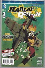 Harley Quinn '14 Annual 1 Bombshells Cover Sealed bag VF B4