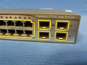 Cisco-WS-C3750G-24PS-S-24-Port-PoE-10-100-1000-Gigabit-Switch-FAST-SHIPMENT