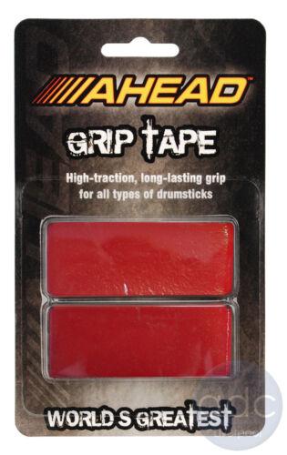 Ahead GripTape Black//Red//White Drum Stick Grip Wrap Tape - AGT//AGTW//AGTR