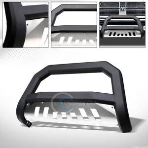 Fit-09-18-Dodge-Ram-1500-Matte-Black-Skid-AVT-Bull-Bar-Brush-Bumper-Grille-Guard