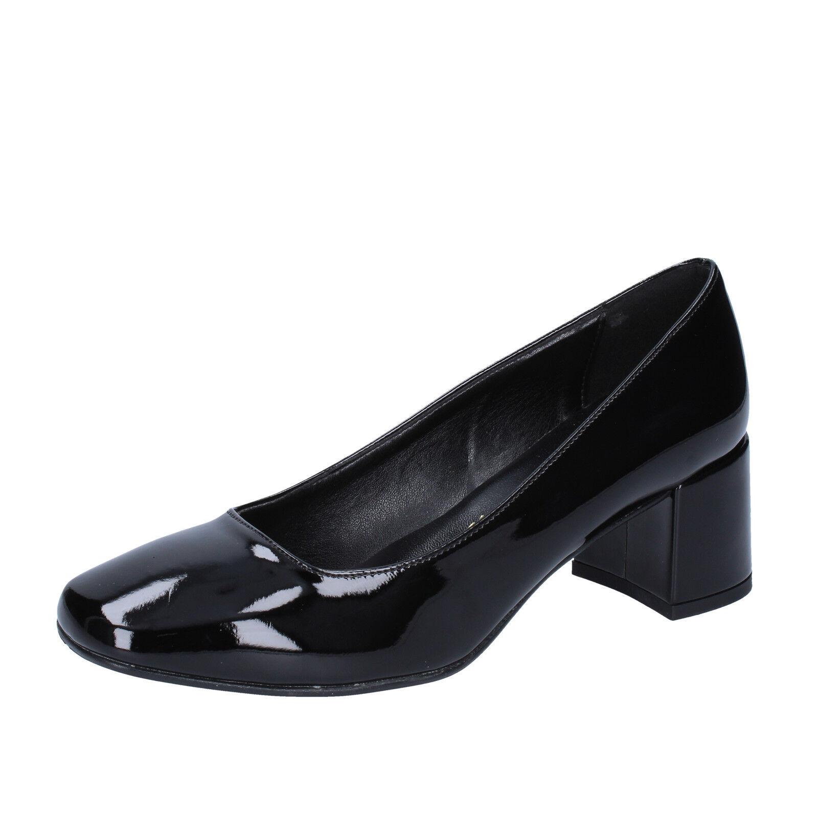 economico e di alta qualità Donna Donna Donna  scarpe OLGA RUBINI 6 (EU 36) pumps nero patent leather BX777-36  sconto di vendita