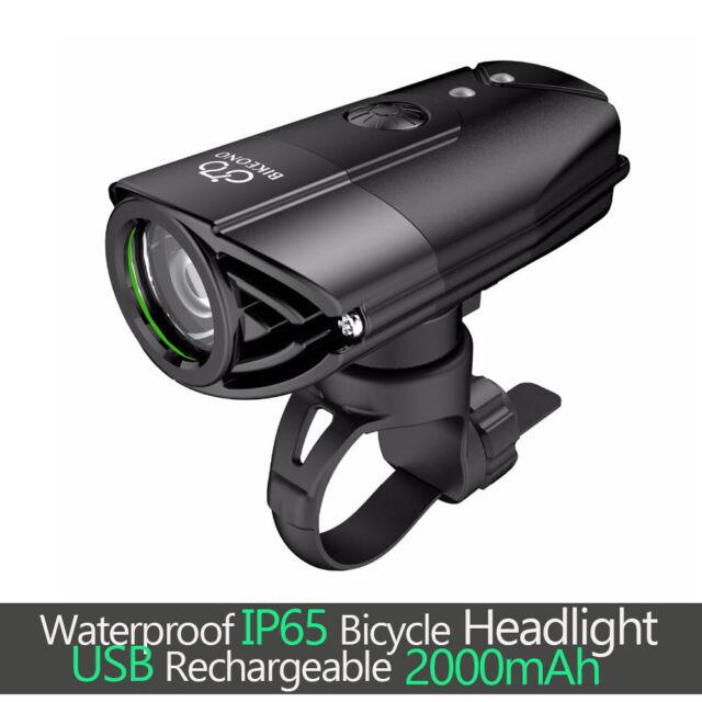 USB Rechargeable Bike Light Set Free Tail Light Helmet Akale LED  Front Back