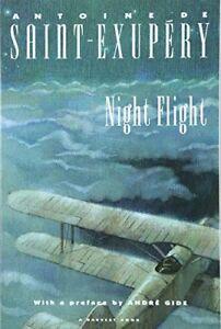 Night-Flight-by-Antoine-De-Saint-Exupery-1974-Paperback-Reprint