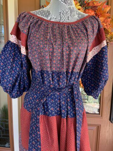 1970 Vintage Boho Maxi Dress