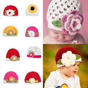 1pcs Baby Boy Girl Crochet Knit Pumpkin Beanie Hat Photograph Prop Cap