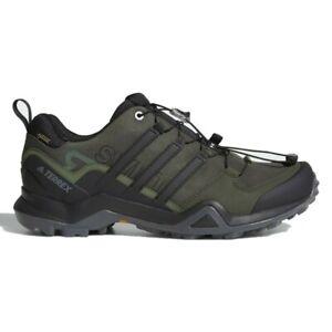 Adidas CM7497 Men's Outdoor Terrex Swift R2 GTX NightCargo/Black/BaseGreen Shoes