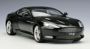 Welly-1-18-Scale-Aston-Martin-DB9-Coupe-Diecast-Static-Car-Model-Black