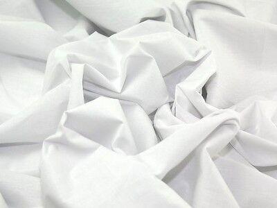 Plain Poly Coton Drap matériel de grande qualité tissu au mètre NEUF