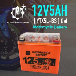 12V-5Ah-Gel-Sealed-Motorcycle-Battery-4-Yamaha-450cc-WR450F-2003-2007-YTX5L-BS