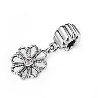 Luxury DIY European Silver Screw Charms For 925 Sterling Women Bracelet Jewelry