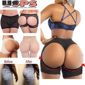 9bf37a180 Women Body Shaper Briefs Butt Lifter Panty Booty Enhancer Hip Push ...