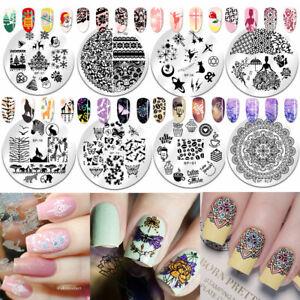 BORN-PRETTY-Nail-Stamping-Plates-Animal-Flower-Image-Printing-Templates
