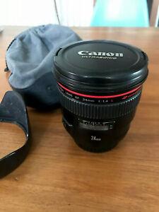 Objectif Canon 24mm f/1.4 L
