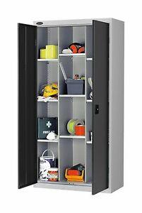 Image Is Loading New British Made Heavy Duty Lockable Multi Shelf