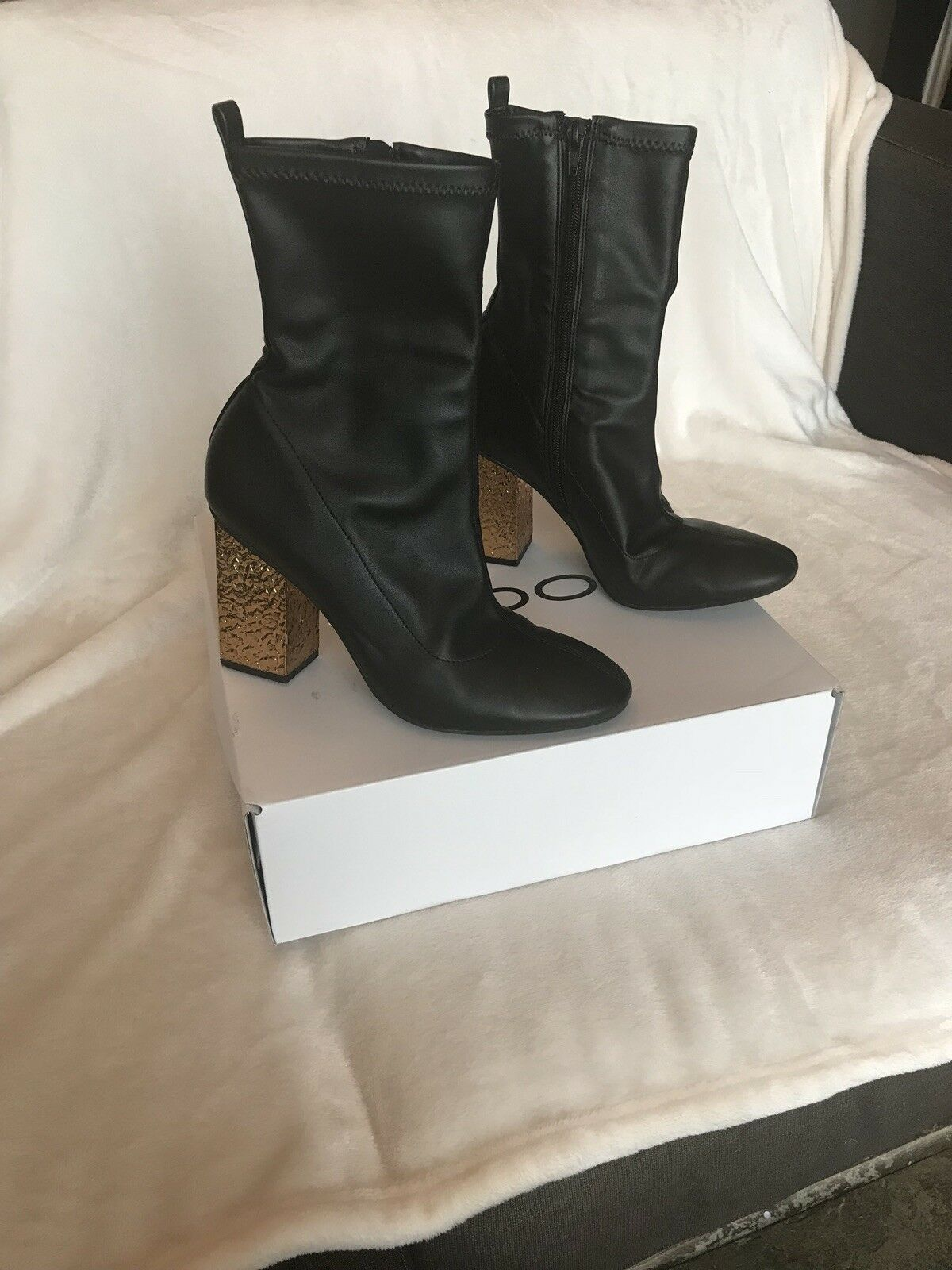 Black Ankle Boots From Topshop