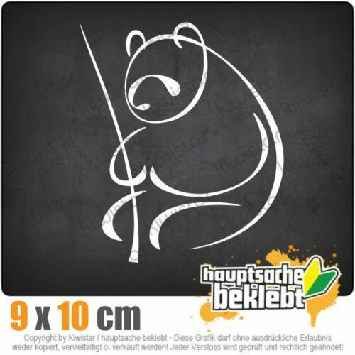 Panda Csf0367 9 x 11 cm Jdm Sticker Decal