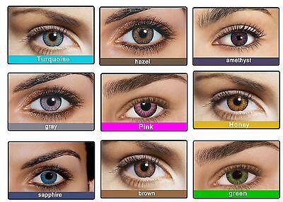 Etui pour Lentille de couleur Fresh Color contact lenses