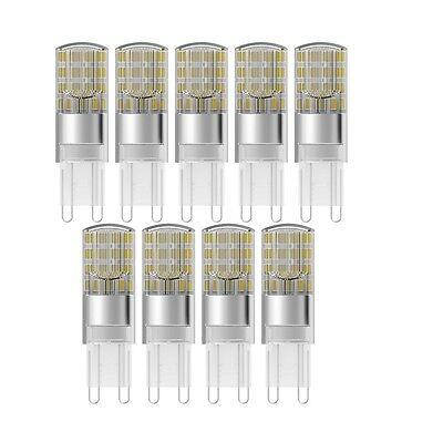 9 x OSRAM LED STAR PIN 30 G9 300° 4000K Cool white 2.6W wie 30W | eBay