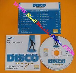 CD-DISCO-DAYS-VOL-8-PROMO-compilation-2002-CHIC-Live-in-Budokan-C4