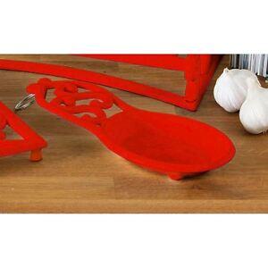 Premier-Housewares-Cucchiaio-di-riposo-rosso-Ghisa