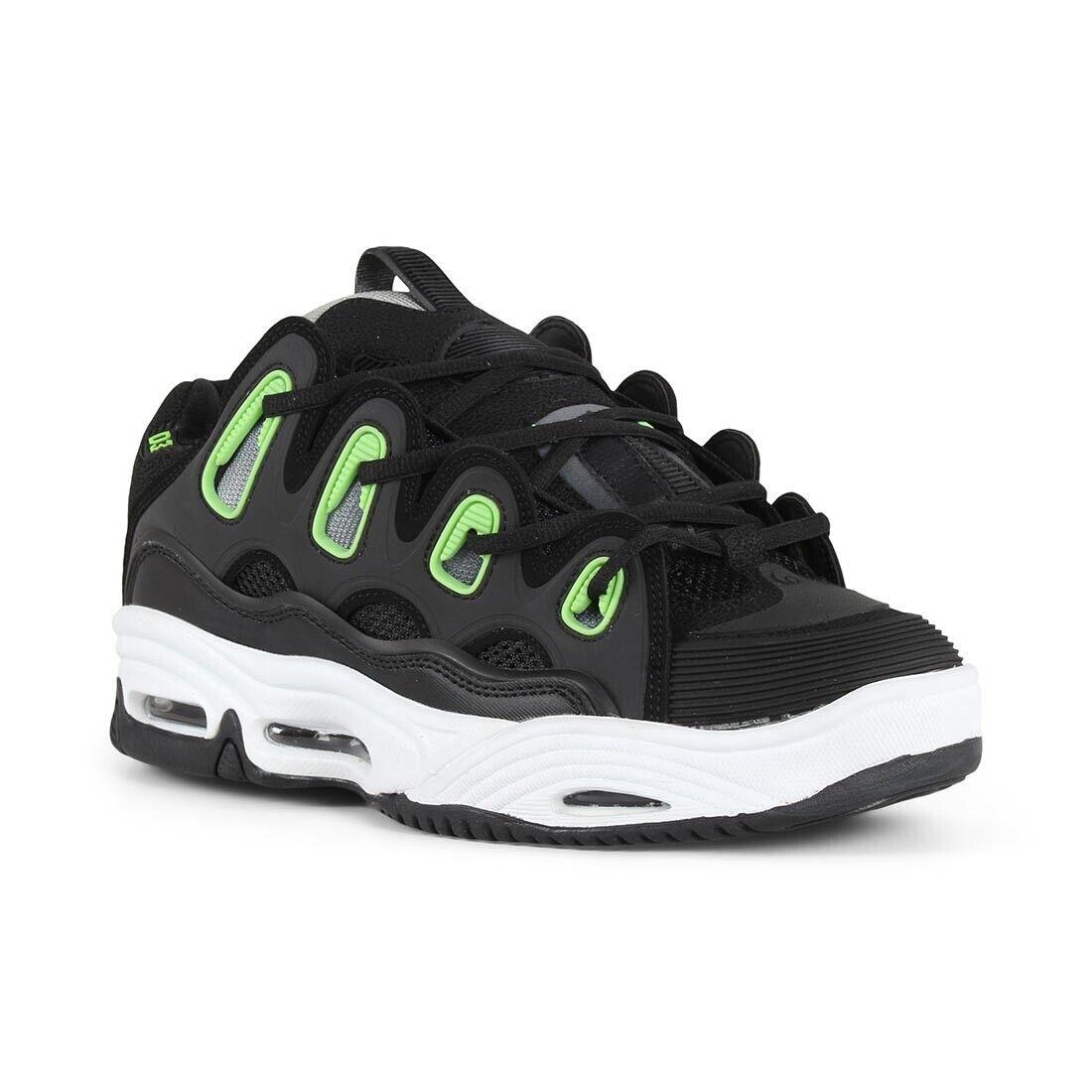 Osiris D3 2001 shoes - Black   White   Green