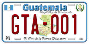 Martinique Aluminum Any Name Personalized Novelty Car License Plate