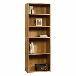 Sauder Beginnings 5 Shelf Bookcase -, Highland Oak