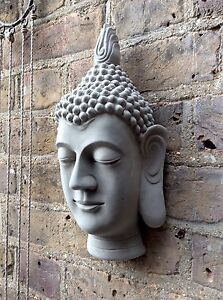 Large Buddhas Head Wall Plaque..Exclusive /& Unique From The Designer Sius