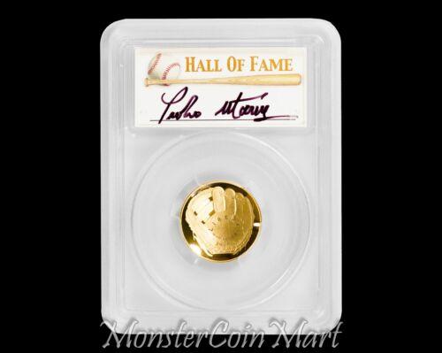 PEDRO MARTINEZ AUTOGRAPHED! 2014-W $5 Gold Baseball Hall of Fame PCGS PR70DCAM