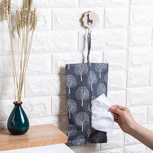 Floral Tissue Box Cover Toilet Tissue Paper Holder Case Napkin dispenser SA