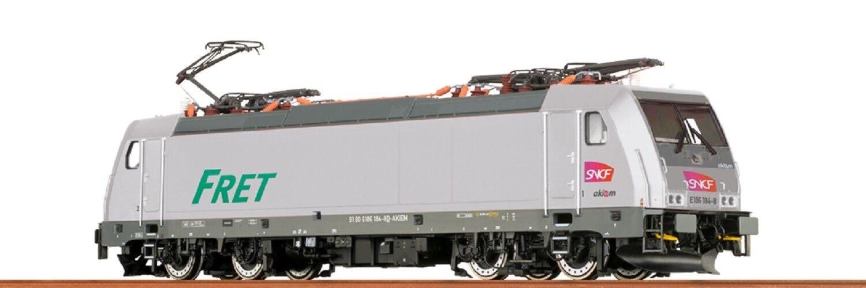 BRAWA HO 43954 TRAXX Elektrolok BR 186 della SNCF Akiem EP. vi NUOVO OVP