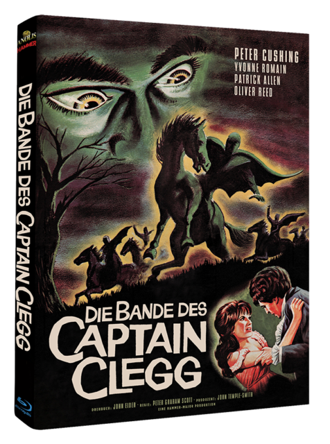 Die Bande des Captain Clegg - Hammer Edition Nr. 14 - Cover B [Blu-ray]