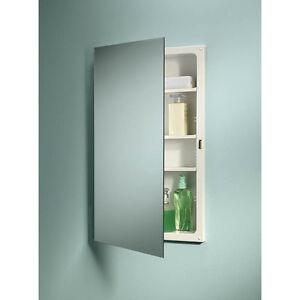 Image Is Loading Jensen B7733 Focus Single Door Recessed Medicine Cabinet