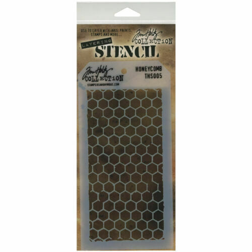 Stampers Anonymous Tim Holtz Layered Stencil 4.125-Inch by 8.5-Inch Harlequin