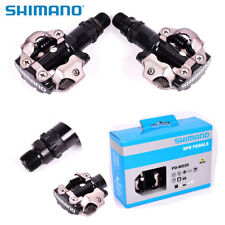 Shimano Pd-m520 SPD Mountain Bike Clipless Bicycle Pedals No Cleats Black