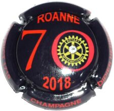 Capsule de Champagne : Extra !! Herbert Didier ROTARY  ROANNE , 2018 avec strass