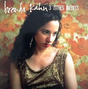 Brenda-Kahn-Maxi-CD-3-Titres-Inedits-Promo-France-EX-EX