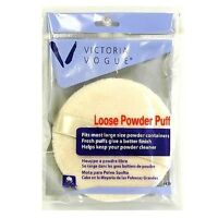 Victoria Vogue Round Loose Powder Puff 1 Ea (pack Of 6) on sale
