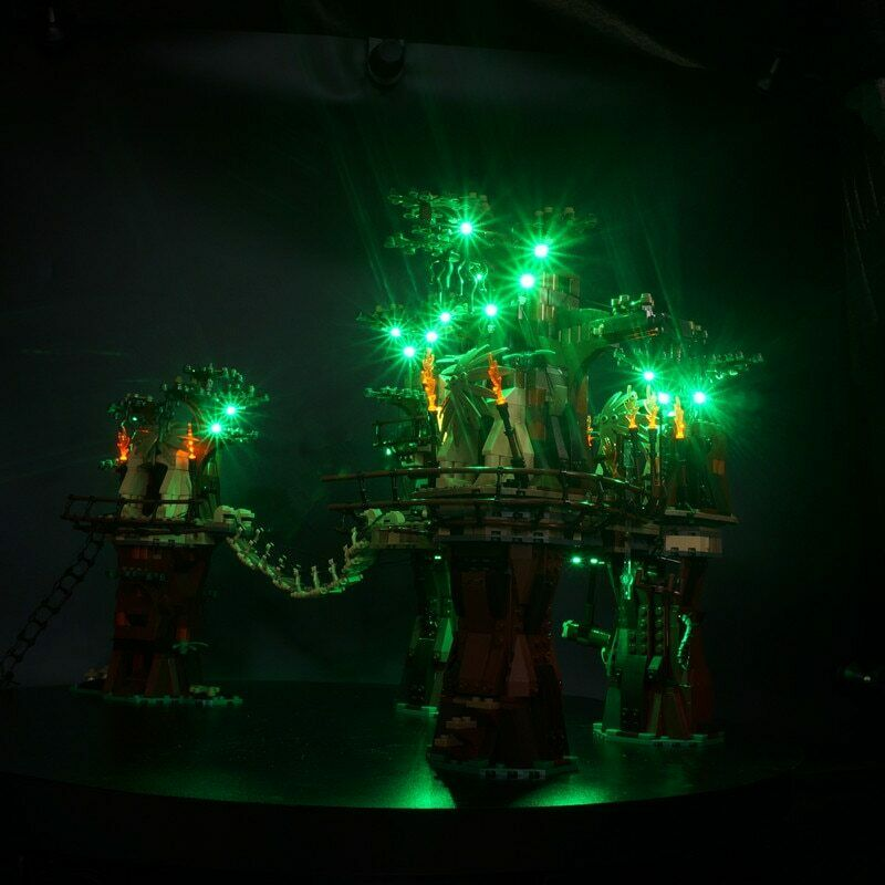 i nuovi marchi outlet online KIT LUCE LED PER LEGO Estrella Guerras Ewok Ewok Ewok villaggio 10236 LEGO LIGHT 10236  protezione post-vendita