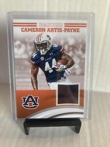 Details about Panini Auburn Football Cameron Artis Payne Jersey Card