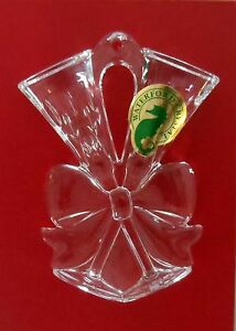 WATERFORD-Crystal-Lismore-Toasting-Flute-Ornament-156421-NEW-GERMANY