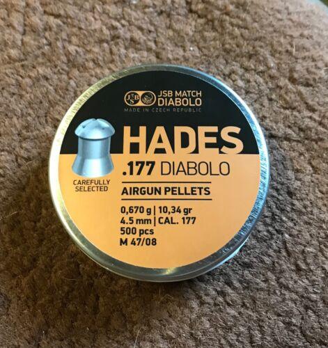 .22 o .25 CAL PELLET JSB Hades .177