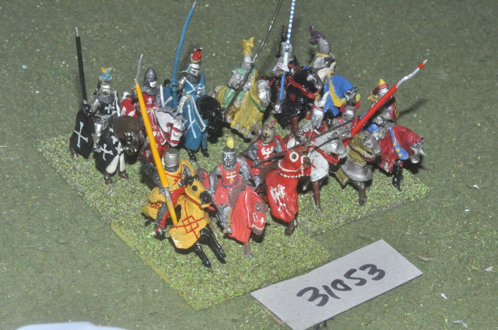 25mm classical   english - knights 12 figures - cav (31053)