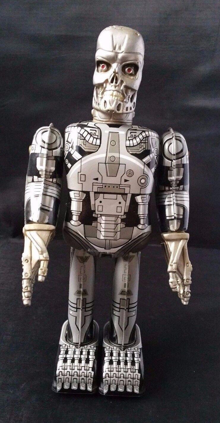 Wind-up Tin toy Terminator endoskeleton walker endo skeleton robot action figure