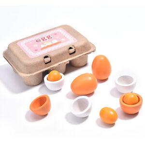 Eggs-Set-Preschool-Educational-Kid-Child-Pretend-Play-Toy-Set-Yolk-Cooking-jv