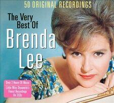The Very Best of Brenda Lee [Digipak] by Brenda Lee (CD, Jan-2013, 2 Discs,...