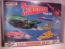 Thunderbirds Rescue Pack Thunderbird 1 2 3 4 5 Matchbox Diecast 1993 Italian SEE