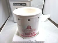 Xmas Electric Boulevard Wax Tart Warmer Oil Diffuser. Red & White